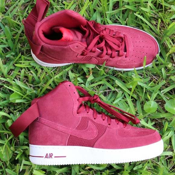 hot sale online 6921b a118c ... best price nike air force 1 high 07 university red white mens 80968  2f5ea
